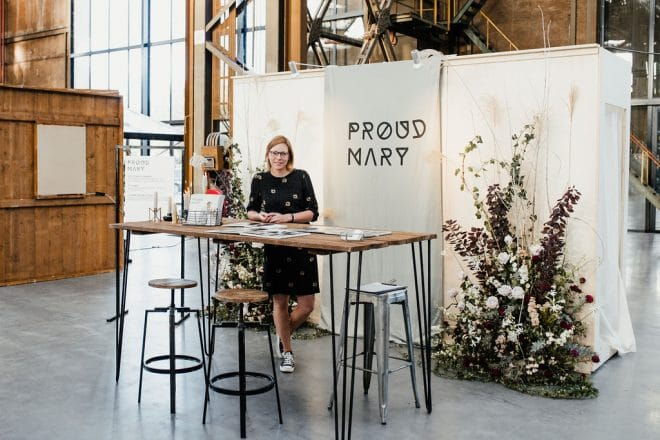 Stand Proud Mary op One Fine Wedding Day beurs
